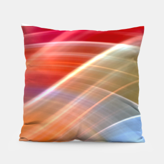 Thumbnail image of Wave Pattern Pillow, Live Heroes