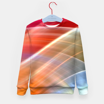 Thumbnail image of Wave Pattern Kid's sweater, Live Heroes