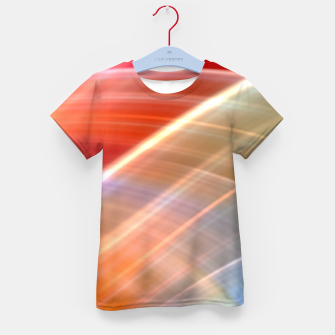 Thumbnail image of Wave Pattern Kid's t-shirt, Live Heroes
