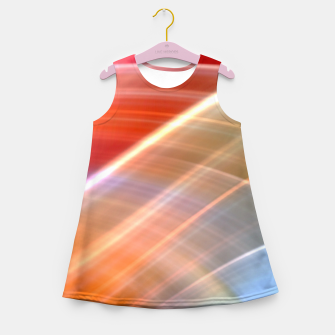 Thumbnail image of Wave Pattern Girl's summer dress, Live Heroes