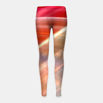 Thumbnail image of Wave Pattern Girl's leggings, Live Heroes
