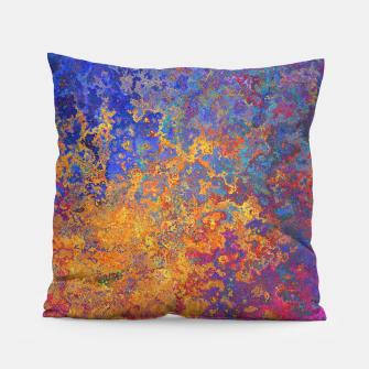 Thumbnail image of Vintage Texture Pillow, Live Heroes