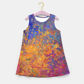Thumbnail image of Vintage Texture Girl's summer dress, Live Heroes