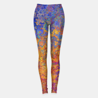 Thumbnail image of Vintage Texture Leggings, Live Heroes