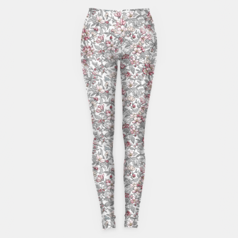 Thumbnail image of Busy Day in Spring Apple Garden  Leggings, Live Heroes