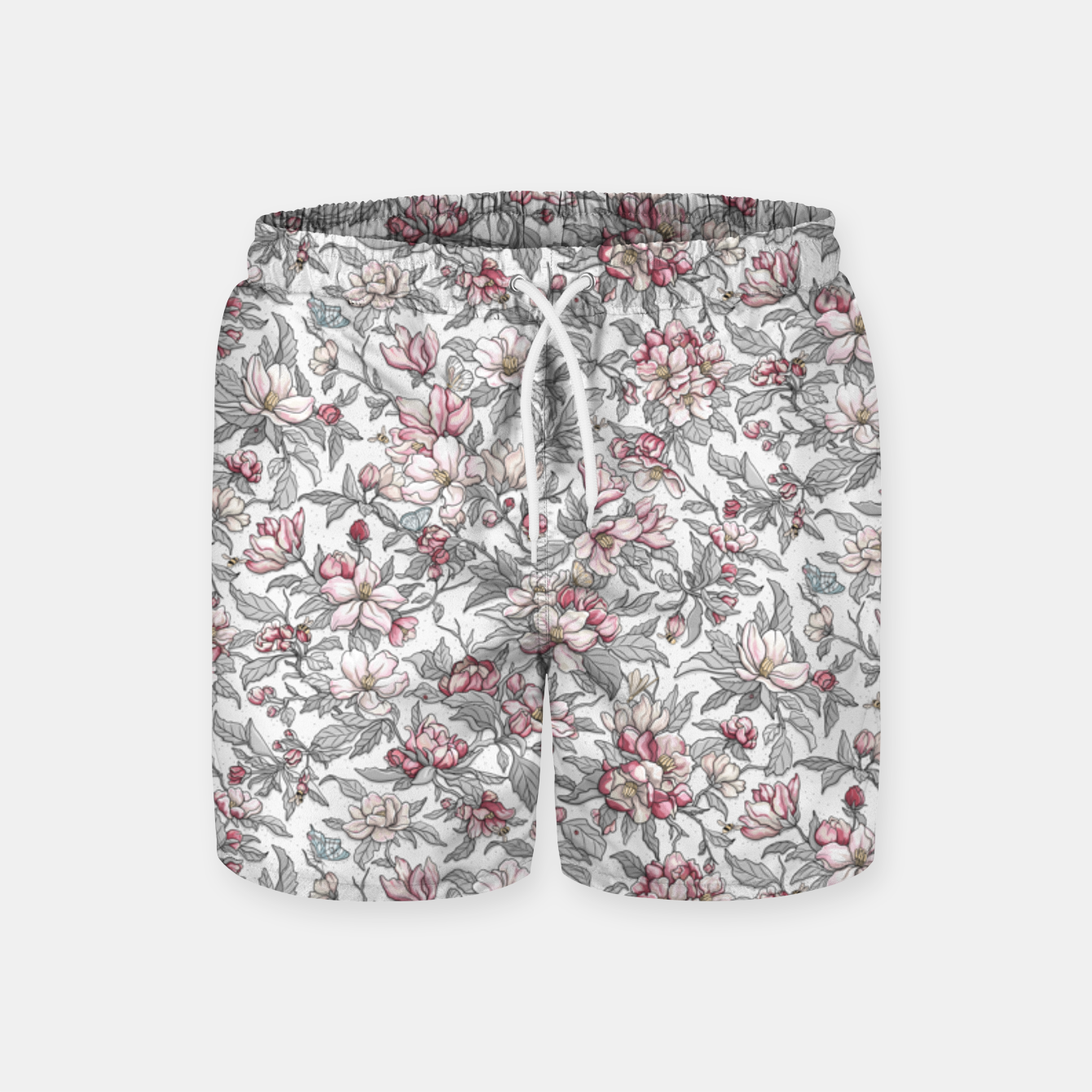Foto Busy Day in Spring Apple Garden  Swim Shorts - Live Heroes