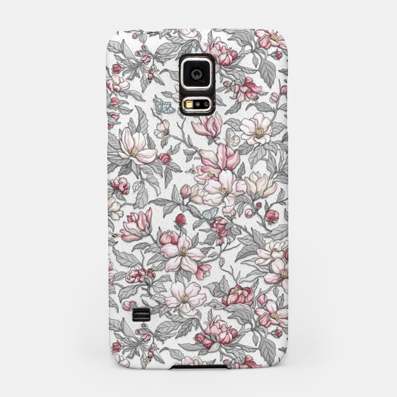 Foto Busy Day in Spring Apple Garden  Samsung Case - Live Heroes