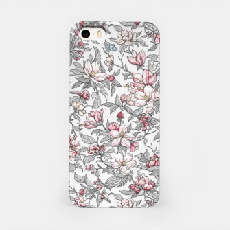 Busy Day in Spring Apple Garden  iPhone Case Bild der Miniatur