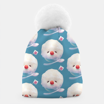 Thumbnail image of Snow Ice Pattern Beanie, Live Heroes