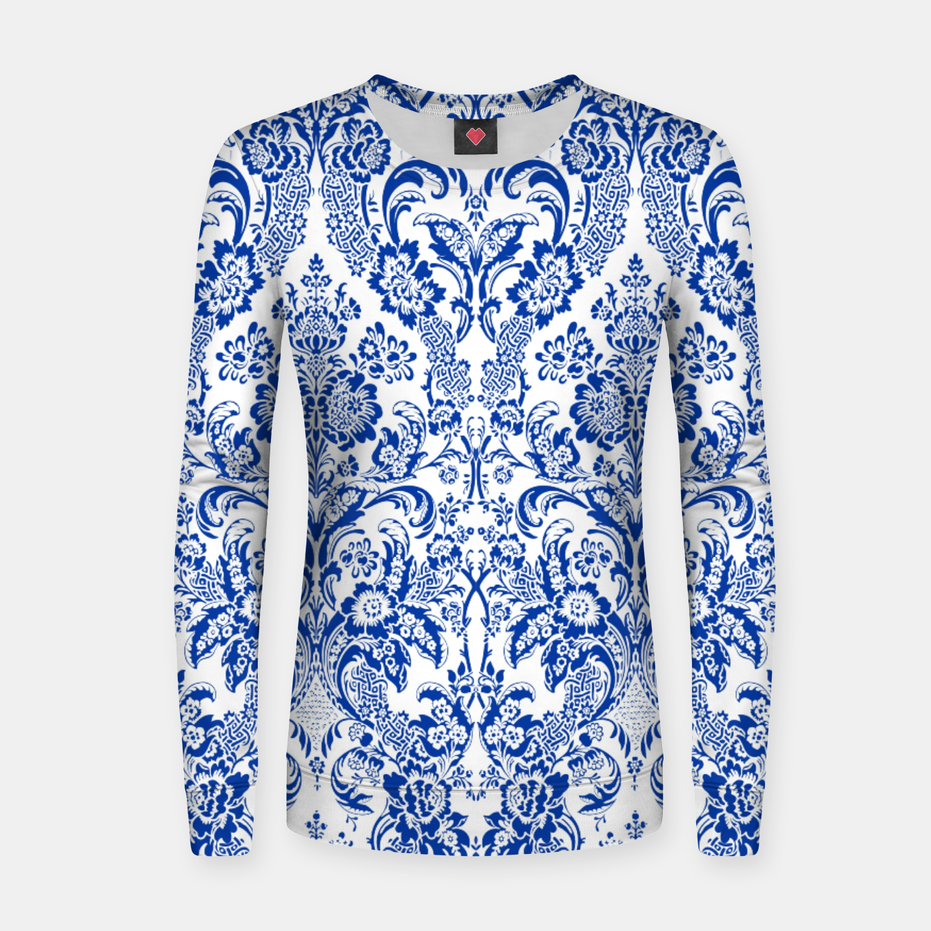 Image of Blue Royal Women sweater - Live Heroes