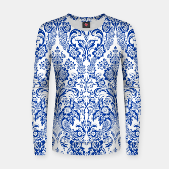 Thumbnail image of Blue Royal Women sweater, Live Heroes