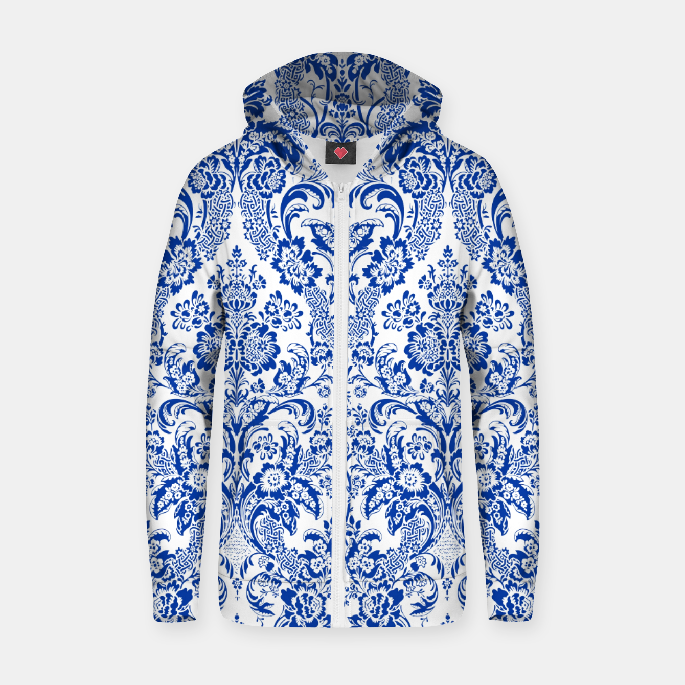 Image of Blue Royal Zip up hoodie - Live Heroes
