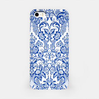 Miniatur Blue Royal iPhone Case, Live Heroes