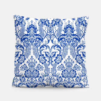 Blue Royal Pillow Bild der Miniatur