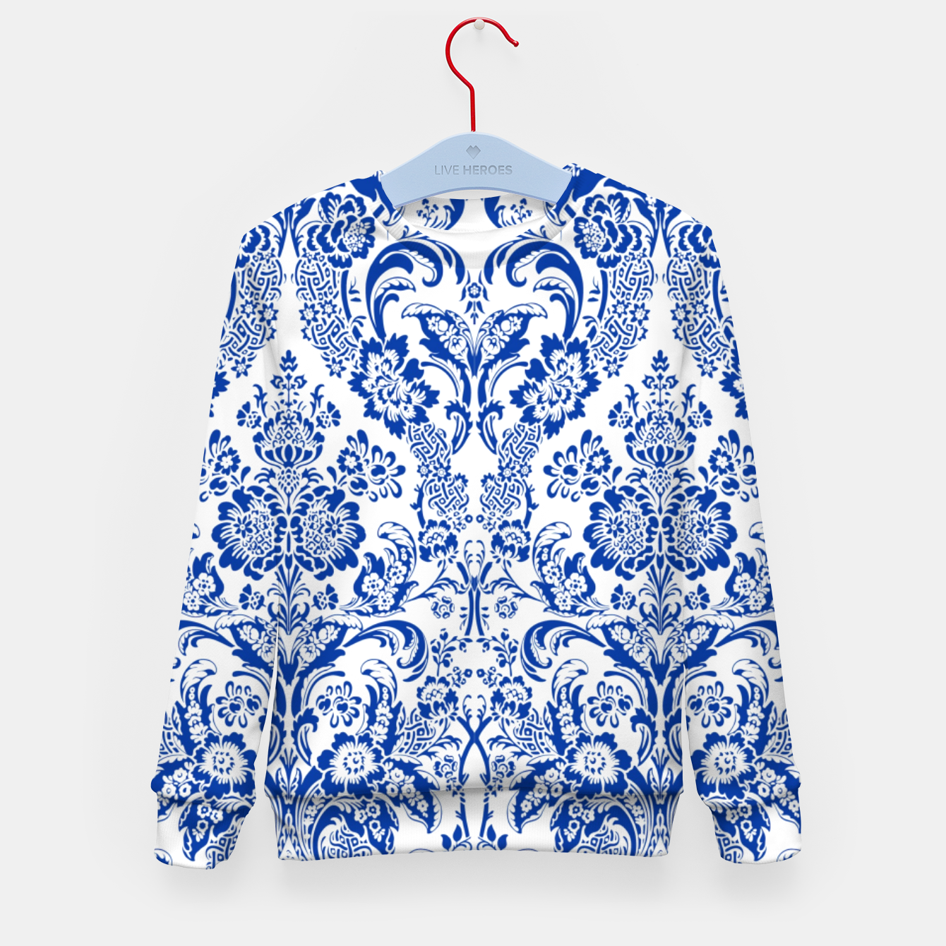 Image de Blue Royal Kid's sweater - Live Heroes
