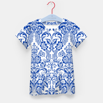 Blue Royal Kid's t-shirt Bild der Miniatur