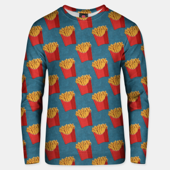 Thumbnail image of FAST FOOD / Fries - pattern Unisex sweater, Live Heroes