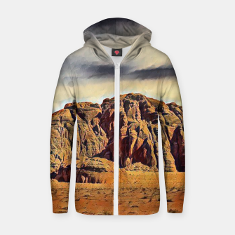 Thumbnail image of mountains on desert Bluza z zamkiem, Live Heroes