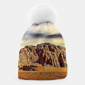 Miniatur mountains on desert Czapka, Live Heroes
