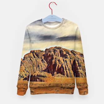 Thumbnail image of mountains on desert Bluza dziecięca, Live Heroes
