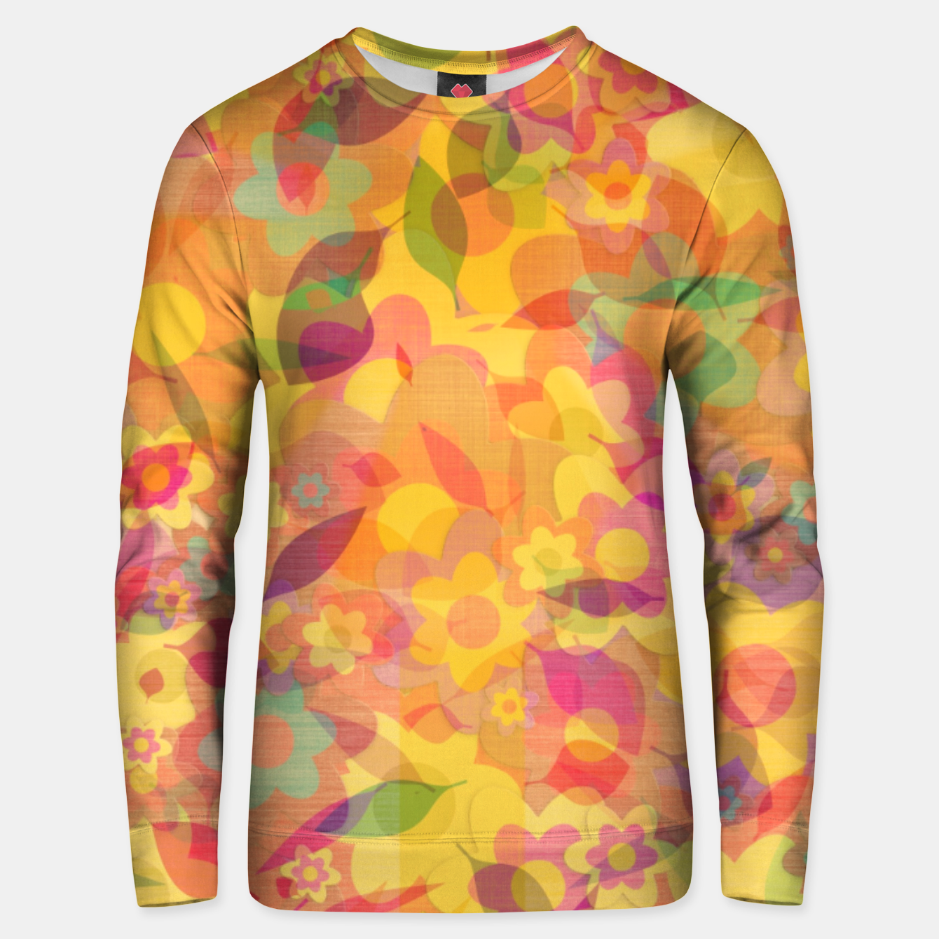 Image of Spring Leaves Unisex sweater - Live Heroes