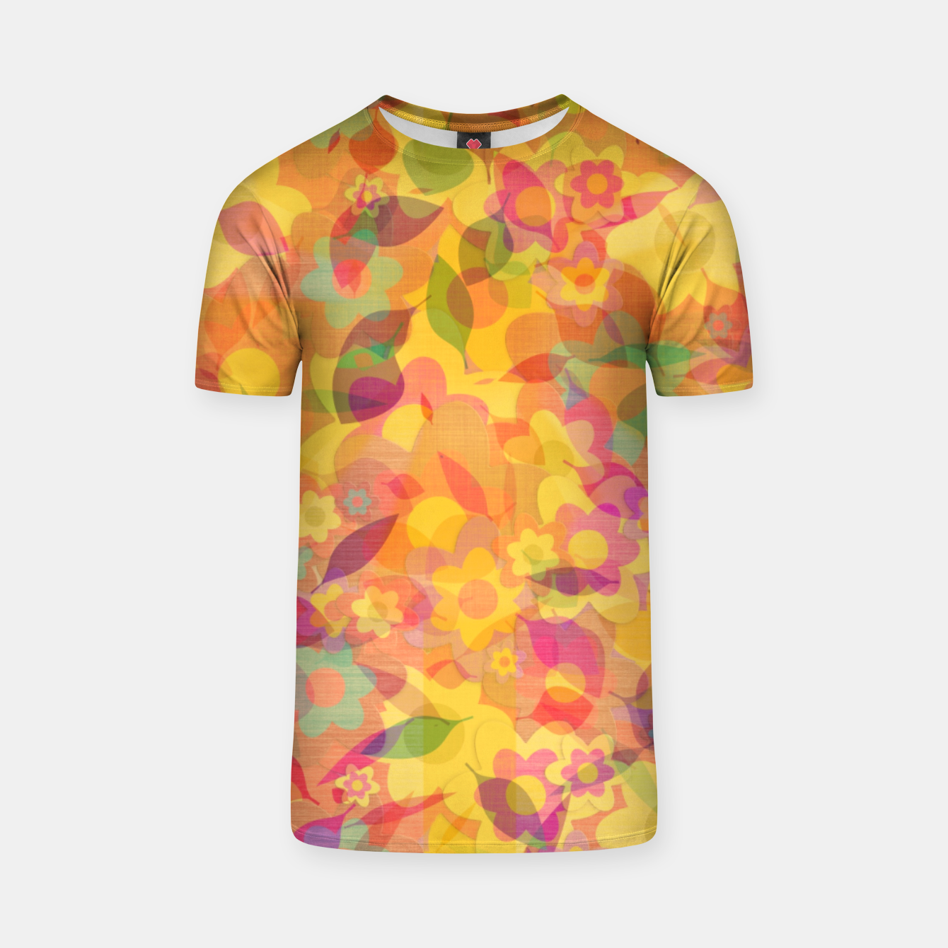 Image of Spring Leaves T-shirt - Live Heroes
