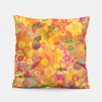 Spring Leaves Pillow thumbnail image