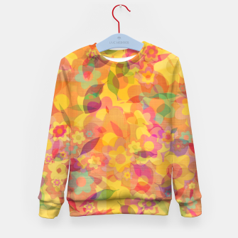 Spring Leaves Kid's sweater thumbnail image