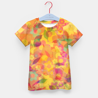 Thumbnail image of Spring Leaves Kid's t-shirt, Live Heroes