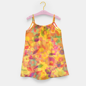 Spring Leaves Girl's dress thumbnail image