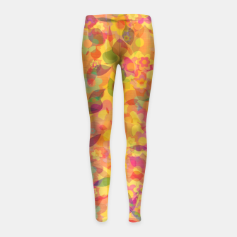 Spring Leaves Girl's leggings thumbnail image