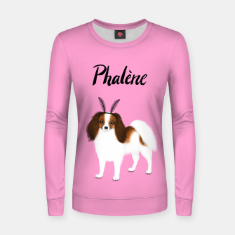 Phalène (Pink) Women sweater miniature