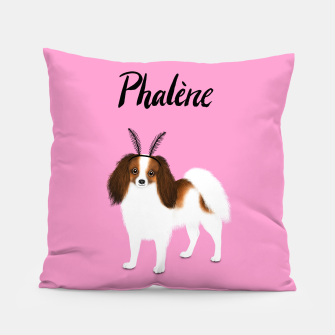 Phalène (Pink) Pillow miniature