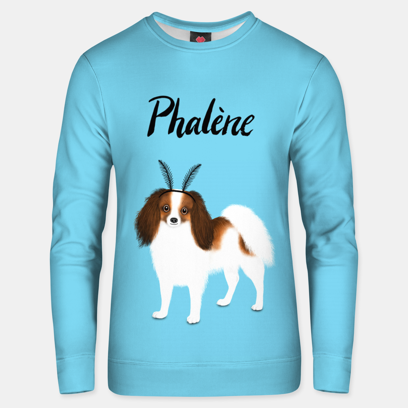 Image of Phalène (Blue) Unisex sweater - Live Heroes