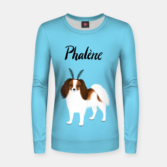 Phalène (Blue) Women sweater miniature