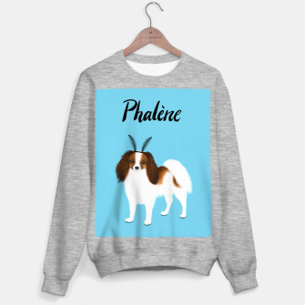 Phalène (Blue) Sweater regular miniature