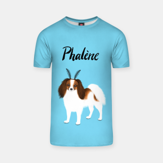Phalène (Blue) T-shirt miniature