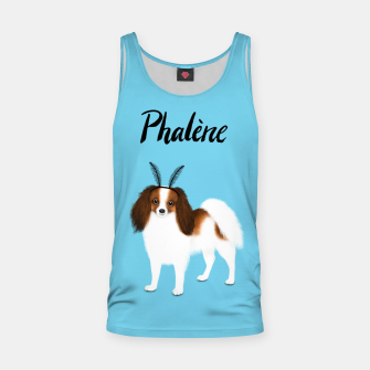 Phalène (Blue) Tank Top miniature