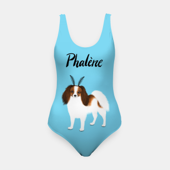 Phalène (Blue) Swimsuit miniature