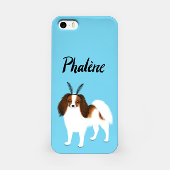 Miniature de image de Phalène (Blue) iPhone Case, Live Heroes