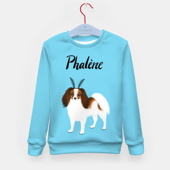 Phalène (Blue) Kid's sweater miniature