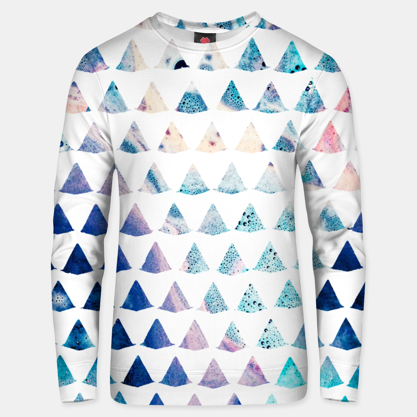 Image of Watercolor Geometry Unisex sweater - Live Heroes