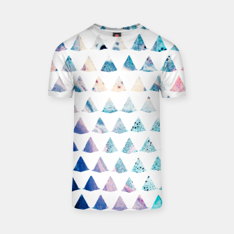 Thumbnail image of Watercolor Geometry T-shirt, Live Heroes