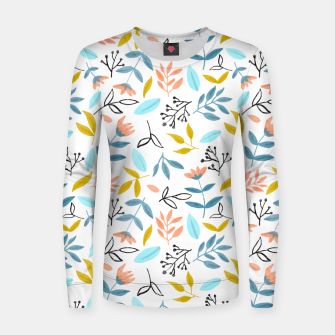 Thumbnail image of Proud Florals Women sweater, Live Heroes