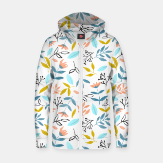 Proud Florals Zip up hoodie thumbnail image