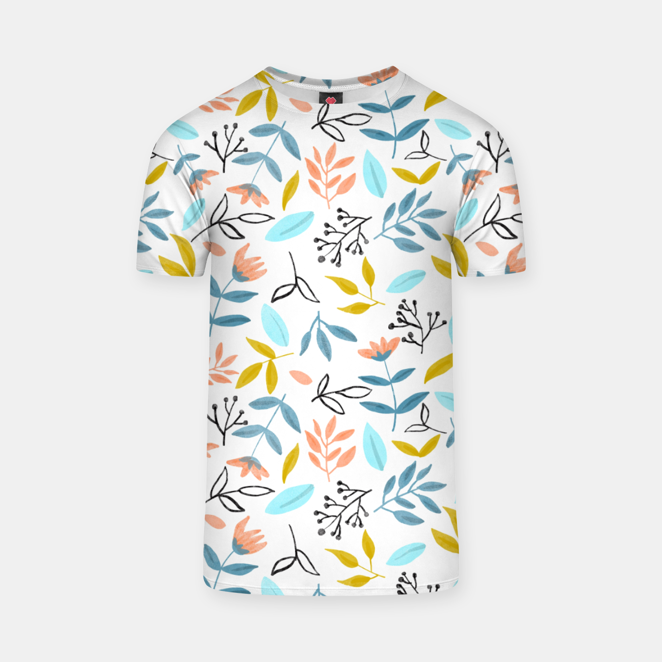 Image of Proud Florals T-shirt - Live Heroes