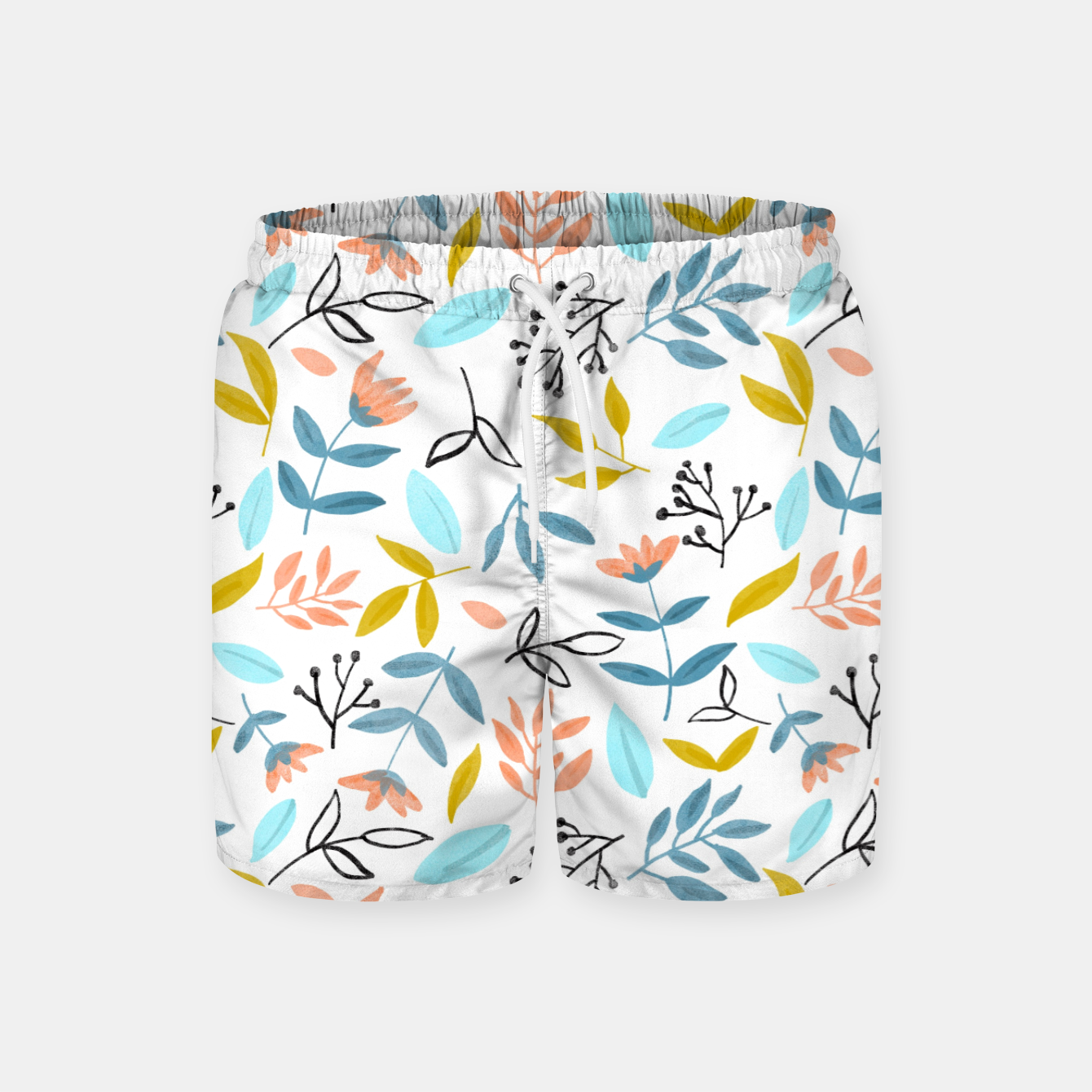 Image of Proud Florals Swim Shorts - Live Heroes