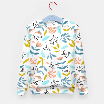 Proud Florals Kid's sweater thumbnail image