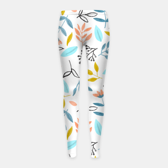 Proud Florals Girl's leggings thumbnail image