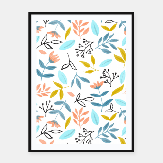 Proud Florals Framed poster thumbnail image